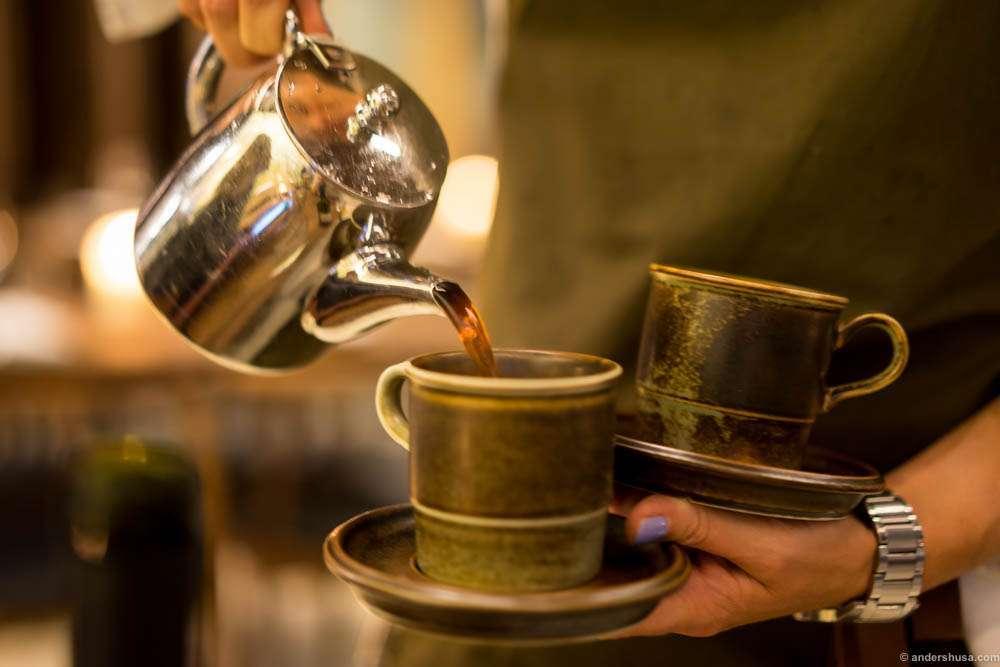 Coffee is served! Solberg & Hansen