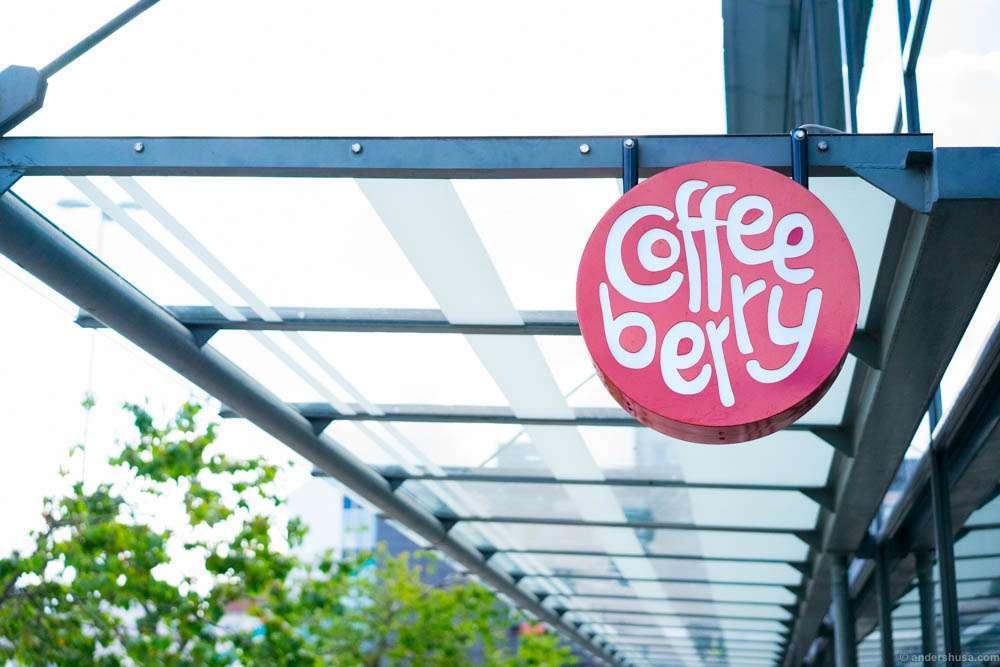 Coffeeberry at Sandnes Rutebilstasjon
