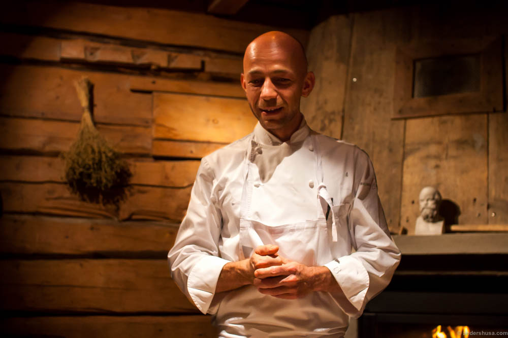 Chef Riccardo Camanini presents himself and the Gelinaz menu