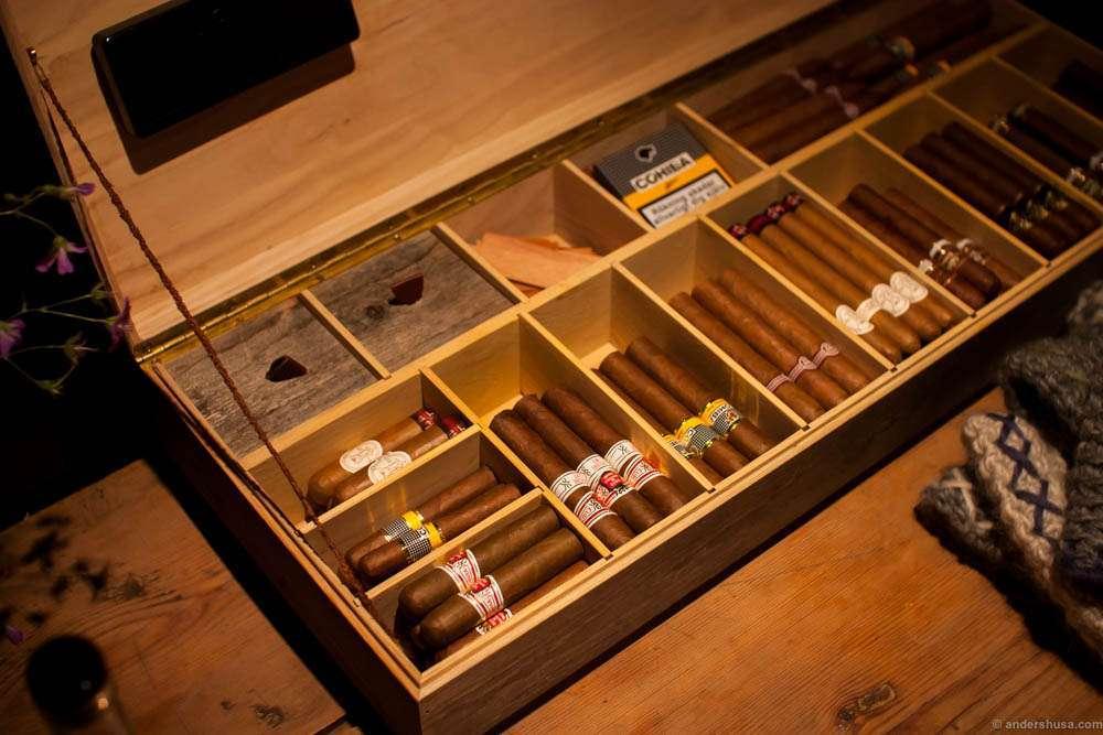 Cigar and a bon fire? Ok then...