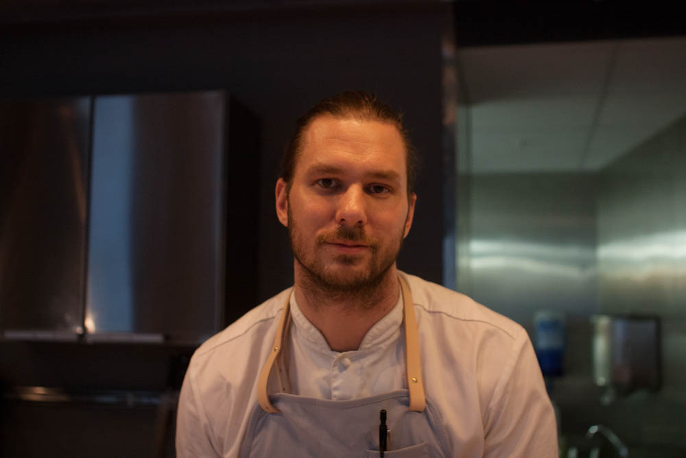 Head chef and owner; Mikael Svensson