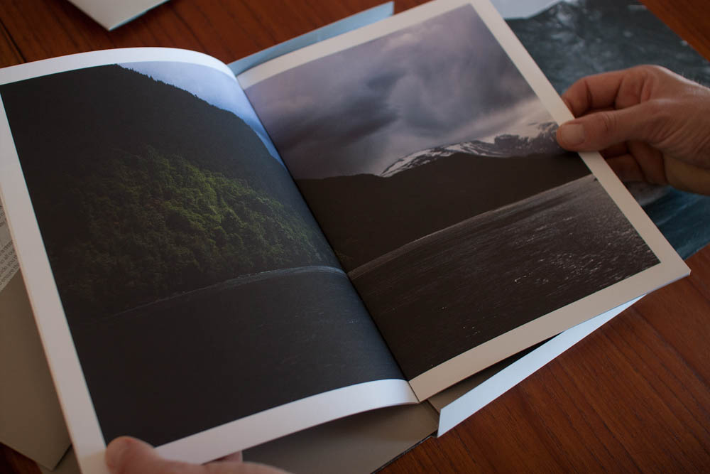 Inside we find beautiful pictures of Norwegian landscape and of course the full menu we ate