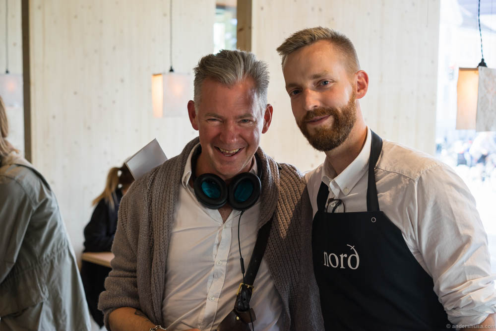 Erik Valebrokk and co-owner Joakim Strand