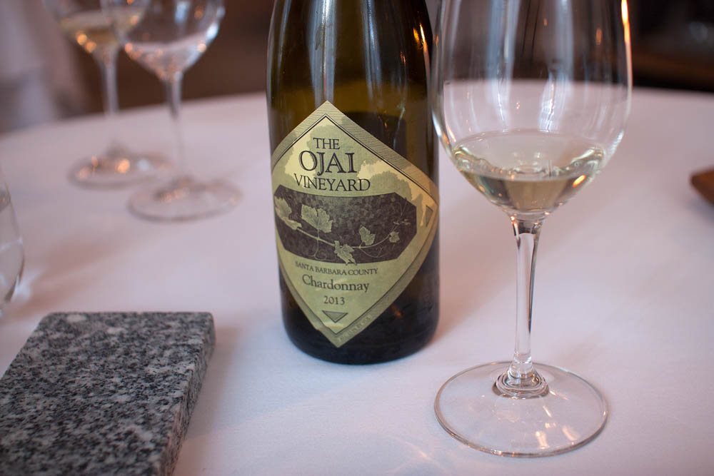 Ojai Vineyard. A very good Chardonnay from 2013