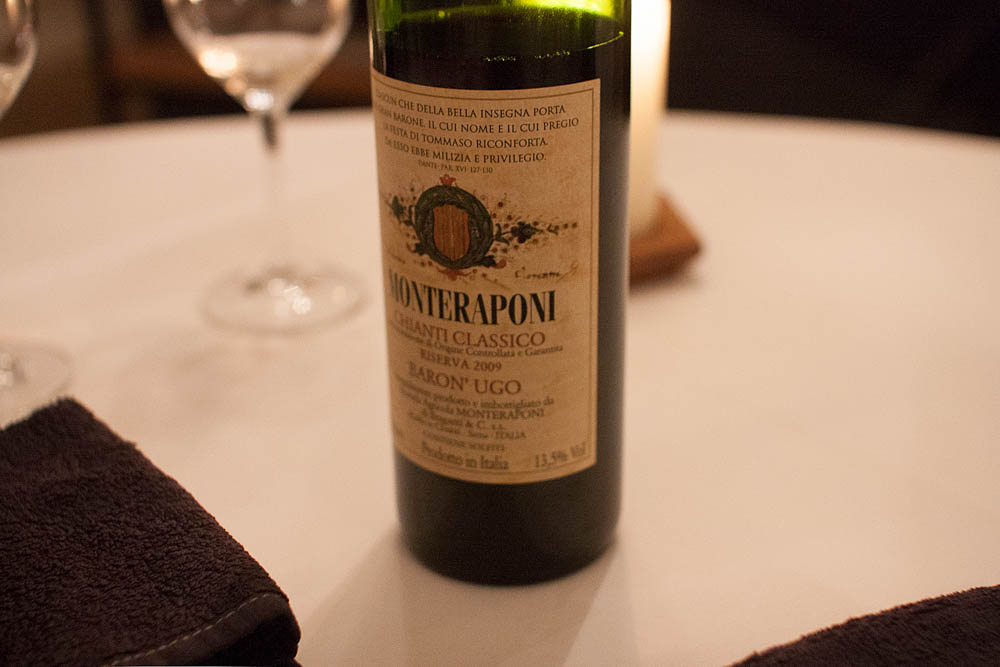 Another taste from Tølløv. Monteraponi Baron´Ugo – Chianti Classico Riserva 2009.