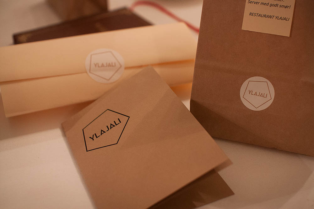 Ylajali gives you a goodie bag with their amazing beer bread when you leave.