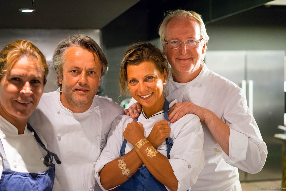 The Dream Team! From left to right; Kristin Jacobsen, Terje Ness, Lise Finckenhagen & Eyvind Hellstrøm