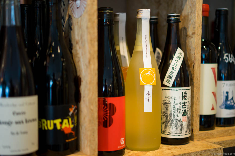 This yuzu sake is one of the most amazing drinks I've ever tried. Period.