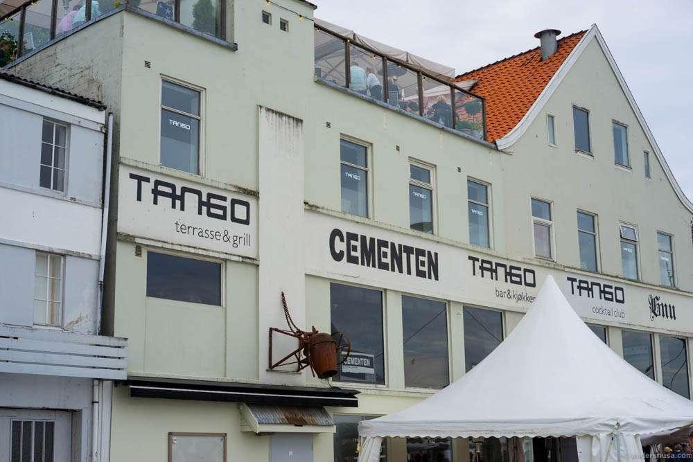 The Tango house