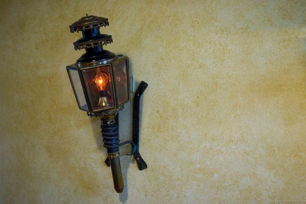 Medieval looking torch