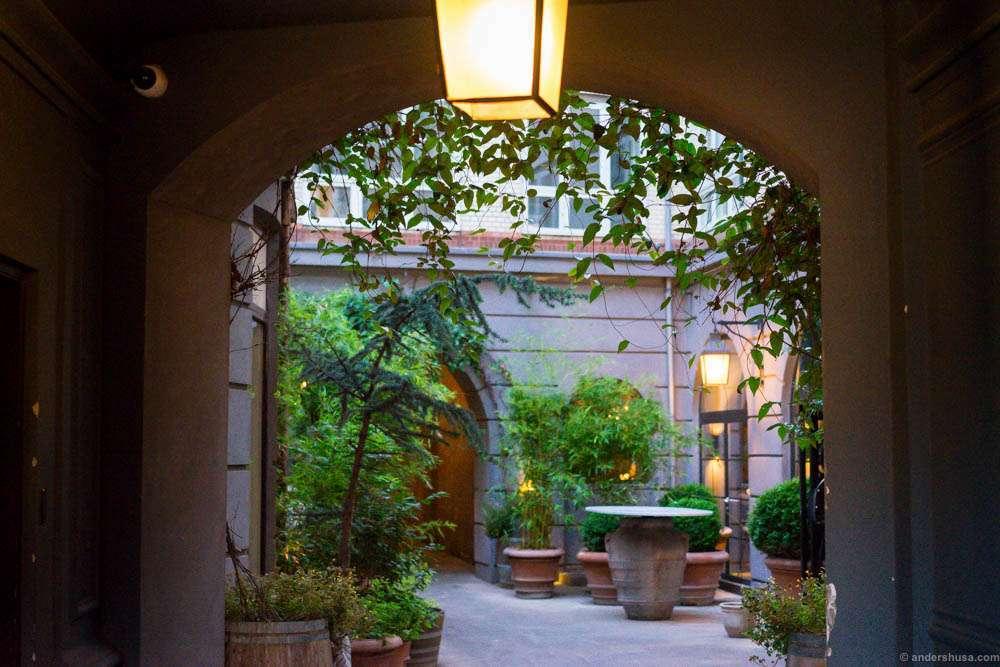 Enter the garden of Geist