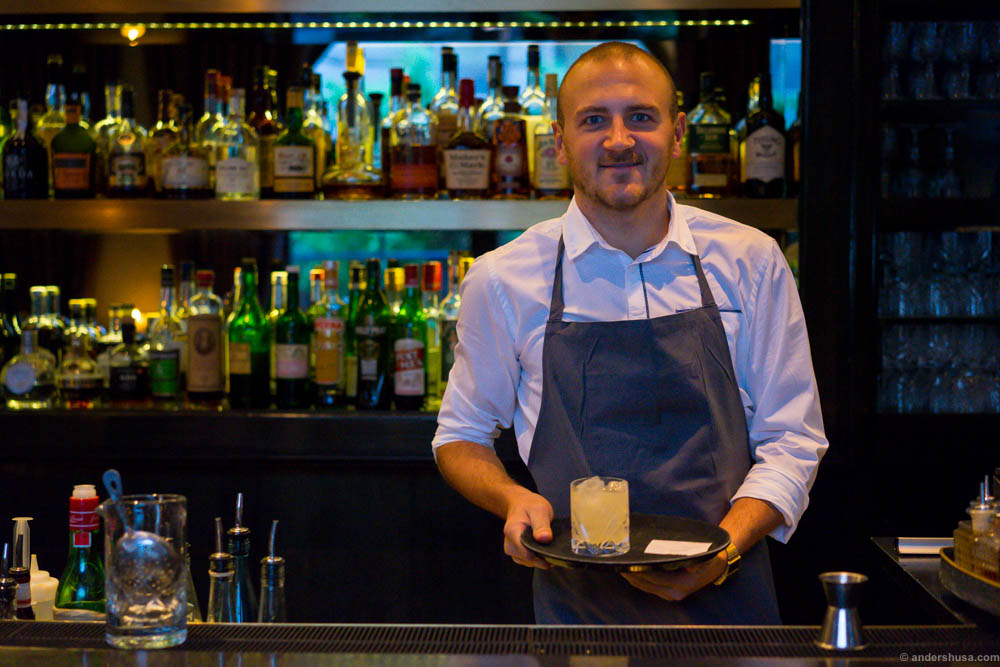 Trust this man and his cocktails