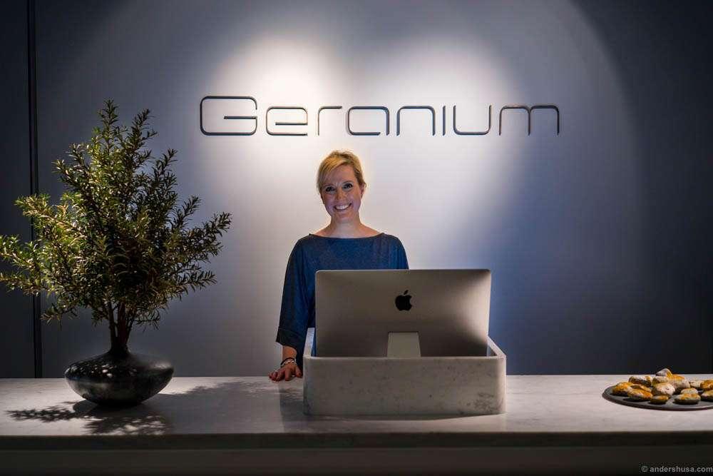 Welcome to Geranium!