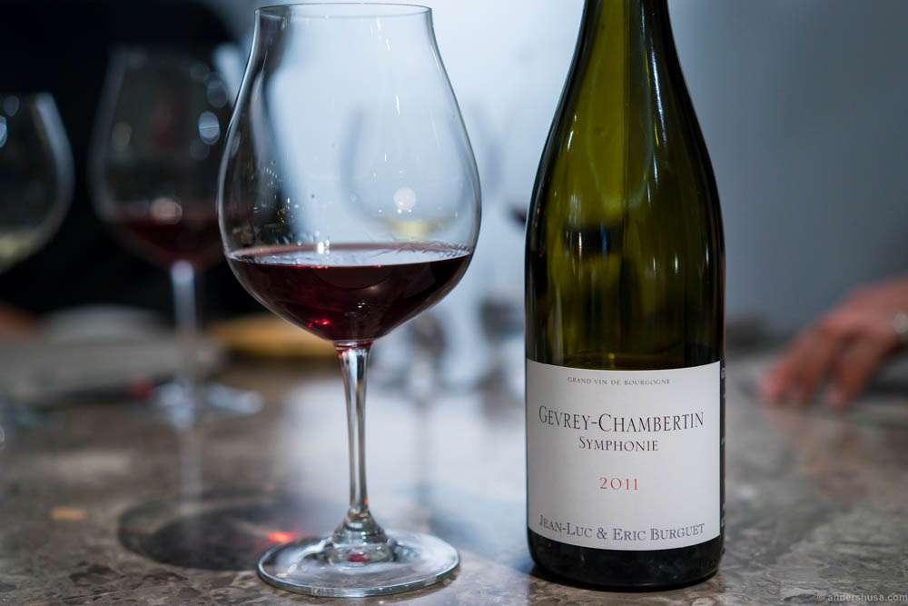 2011 Gevrey-Chambertin Symphonie, Domaine Alain Burguet, Bourgogne