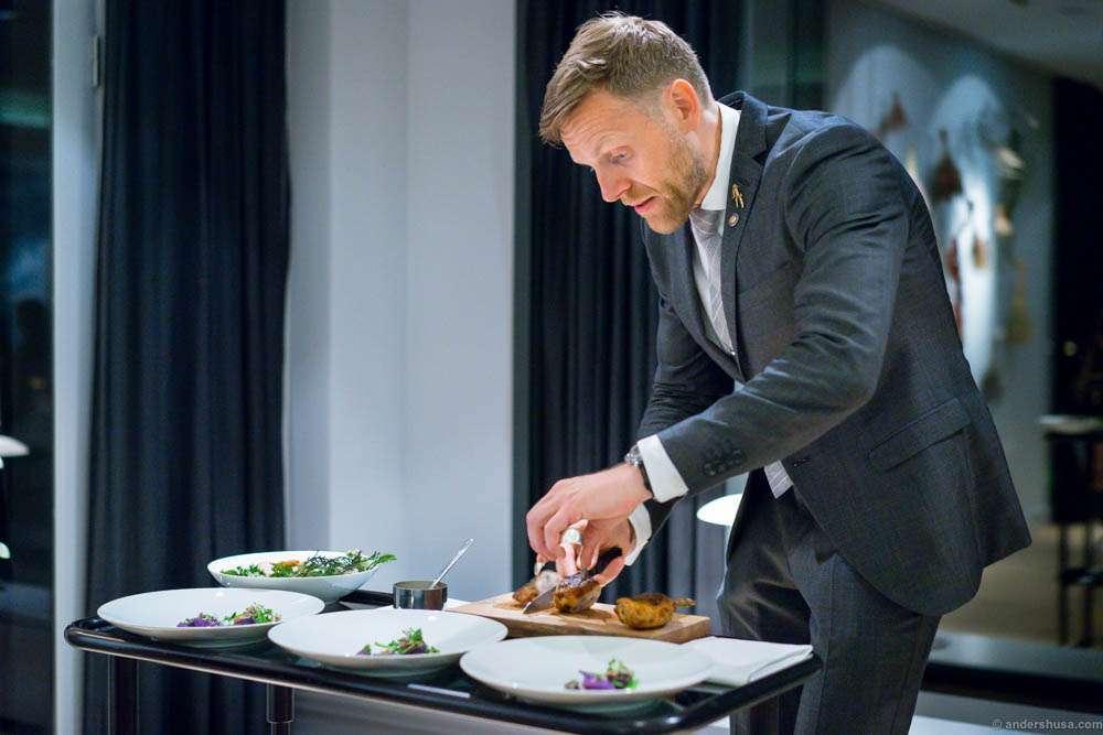 Søren Ledet is co-owner of Geranium and wine director.