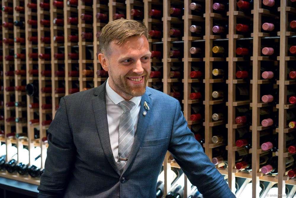 Søren Ledet brought us into his wine temple