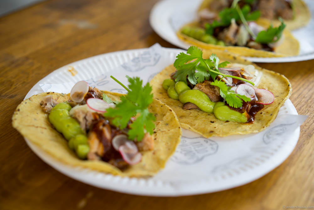 """""""Grandma tacos"""" by Paco Méndez. The paco taco!"""