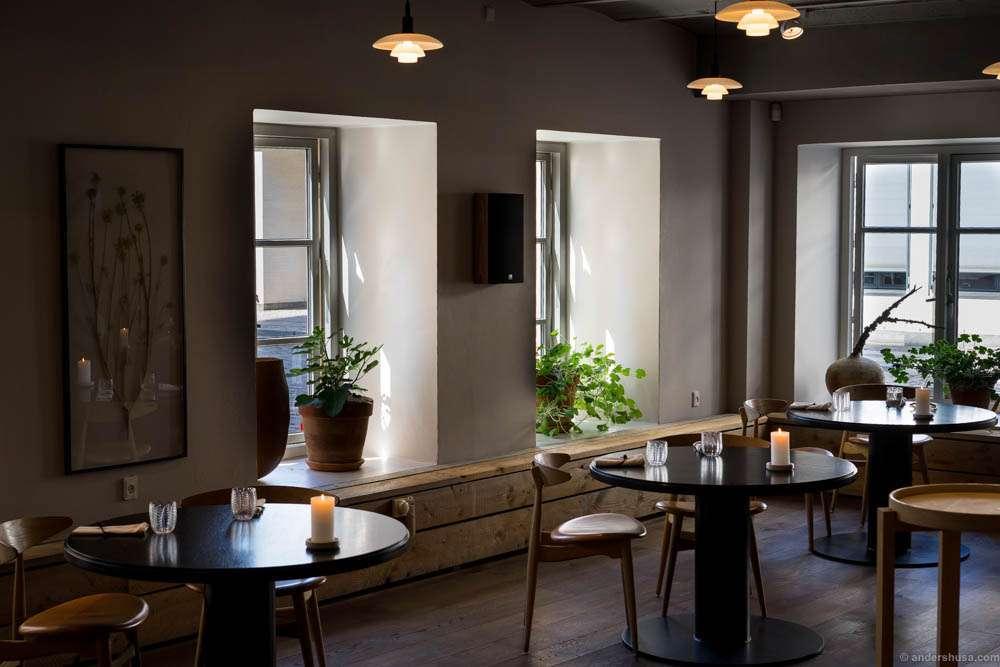 A great interior at Kadeau Copenhagen as well