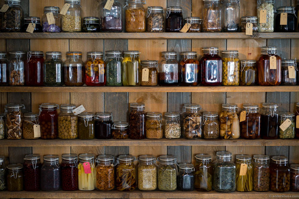 Pickled and preserved...everything!