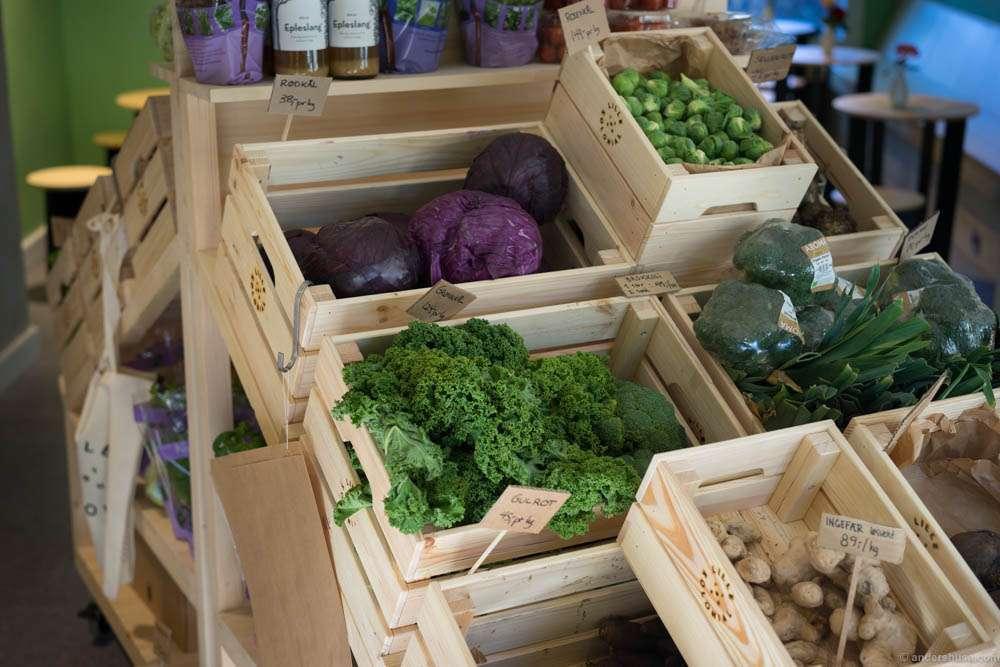 Organic vegetables!