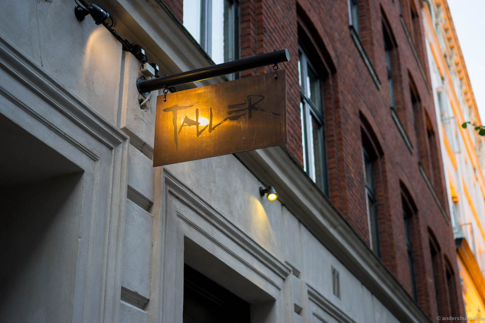 Restaurant Taller is located in a quiet corner close to Kongens Nytorv