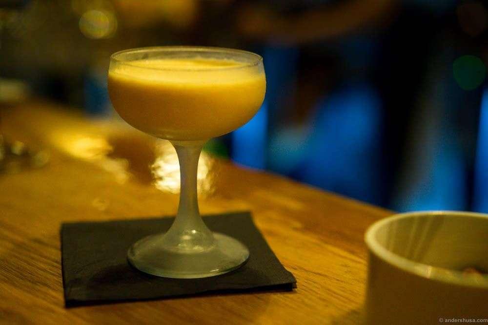 A dessert cocktail - Cose Della Vita