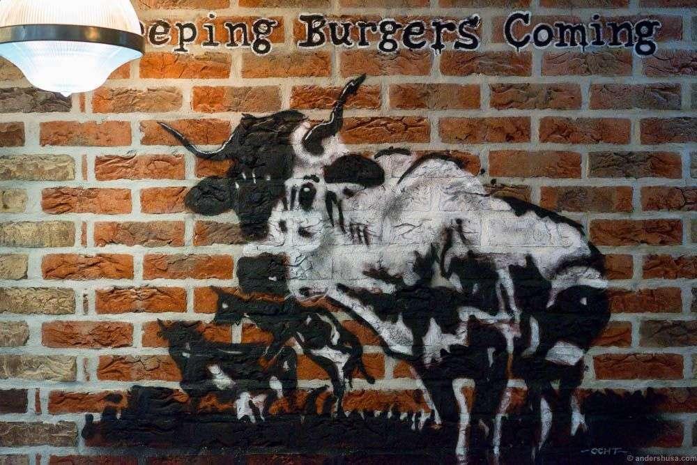 Keeping Burgers Coming at Aker Brygge!