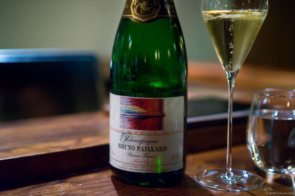 ...Champagne time! Bruno Paillard Assemblage 2004