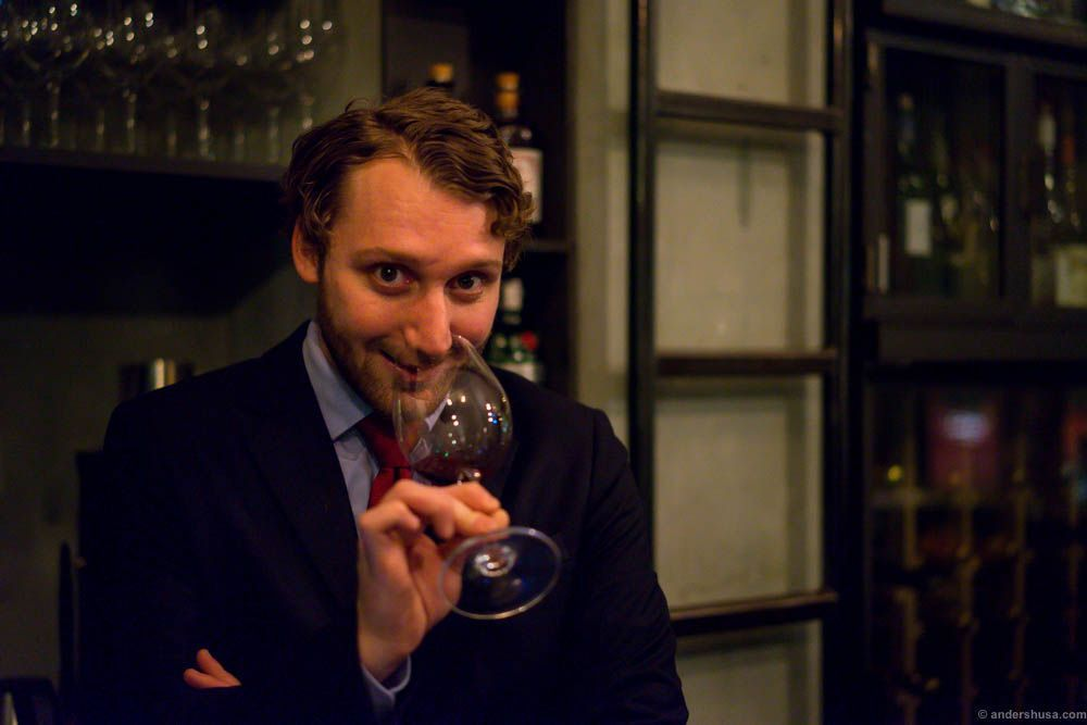 Simon Zimmermann Territoriet wine bar Oslo