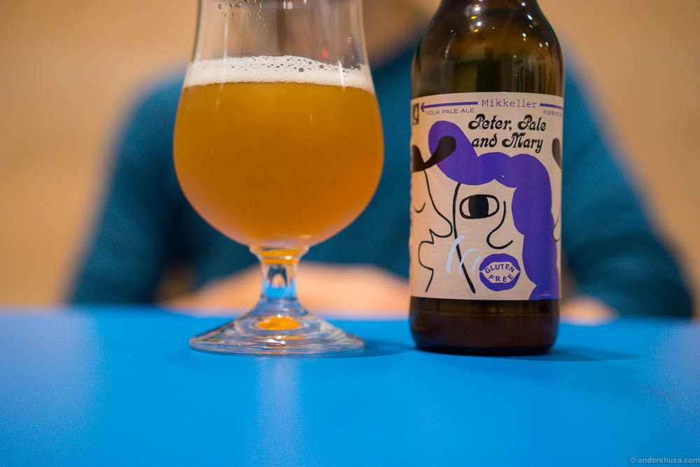 Peter, Pale and Mary. Another Mikkeller option at Illegal Burger. Sweeter, softer and less hoppy