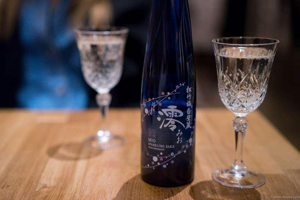 Shochikubai Shirakabegura Mio Sparkling Sake