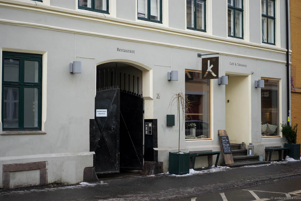 Kamai in Korsgate, where Kolonihagen Grünerløkka used to be located