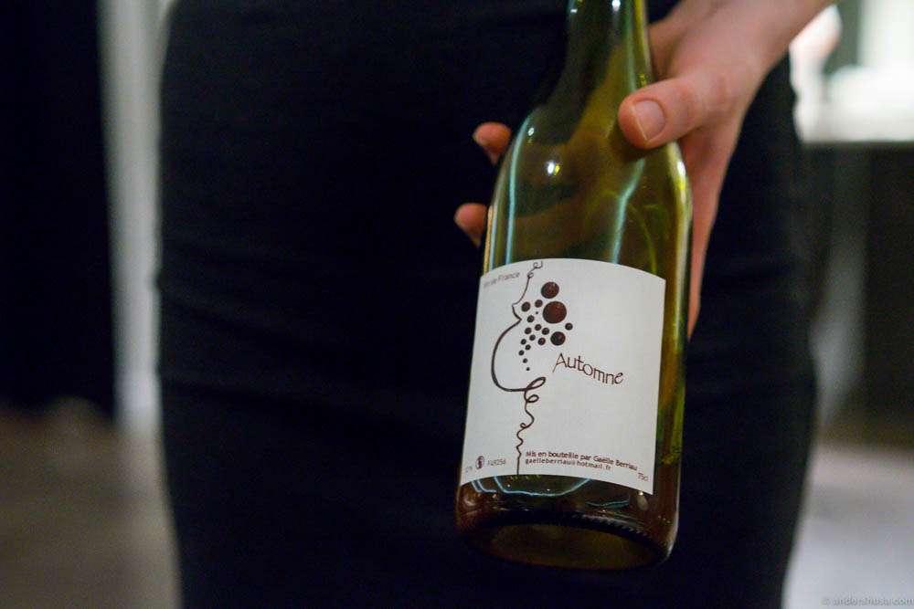 2011, Vin de France, Automne, Gäelle Berriau, Loire. A delicious pét' nat'!