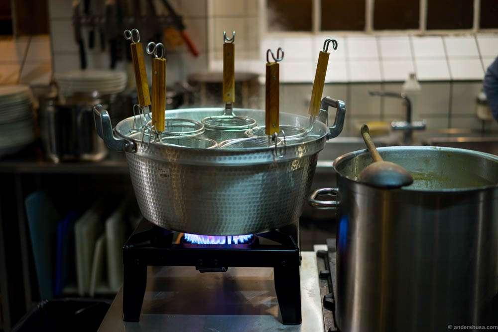 The noodle pot