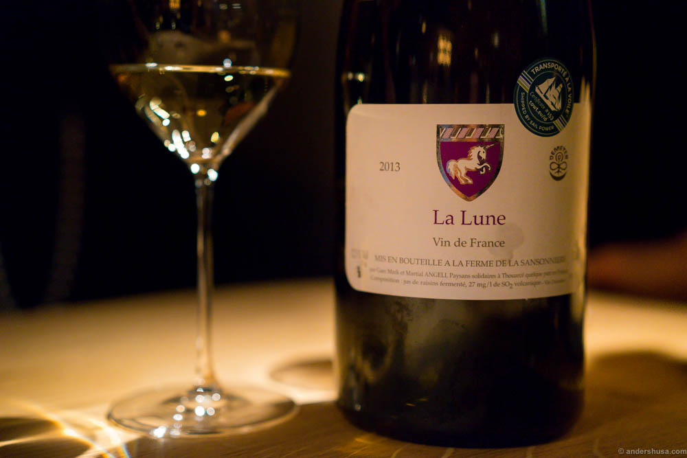 2013 Domaine Mark and Martial Angeli, La Lune, Chenin Blanc, Loire, France