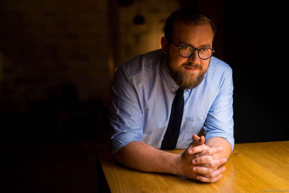 Co-owner and restaurant manager Magnus Høegh Kofoed