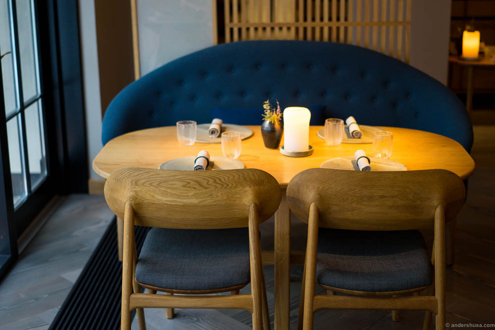 The table is set for one of the best meals you'll ever eat
