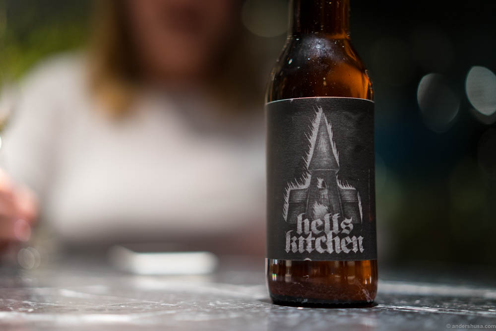 Hell's Kitchen, Farmhouse Ale, 6,66%, Rocket Brewing Company