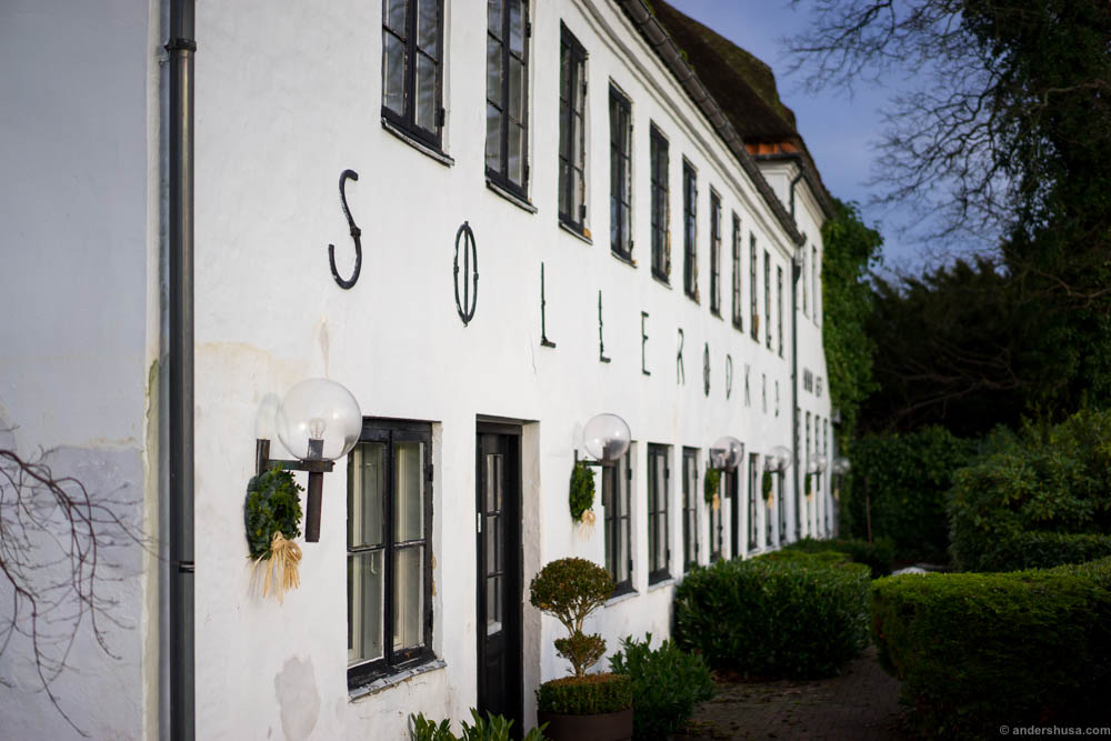 Søllerød Kro is located a short drive outside Copenhagen in fairytale-like surroundings