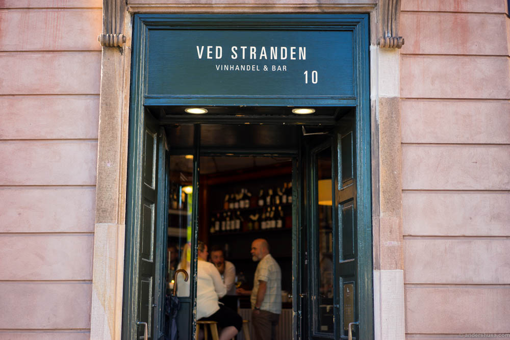 Entrance to Ved Stranden 10