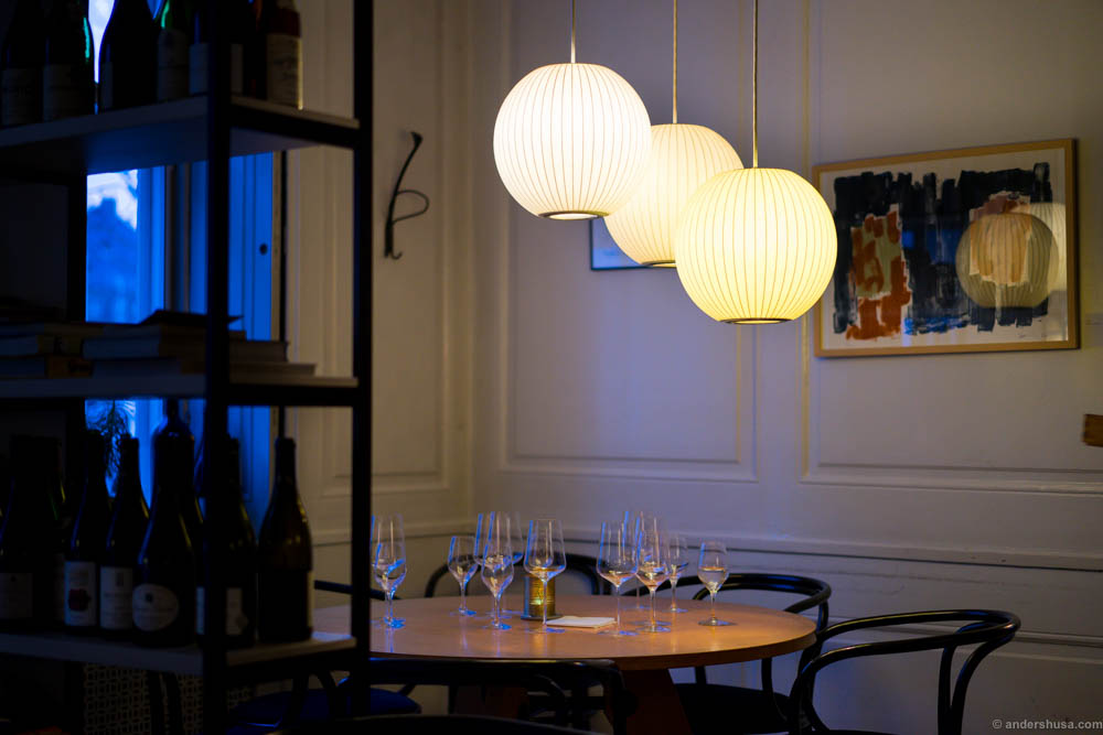 Beautiful George Nelson lamps
