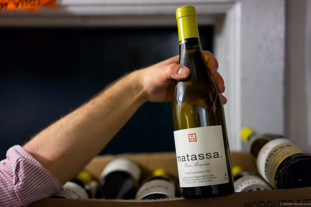 I love the red wines from Matassa. Time to try a white wine