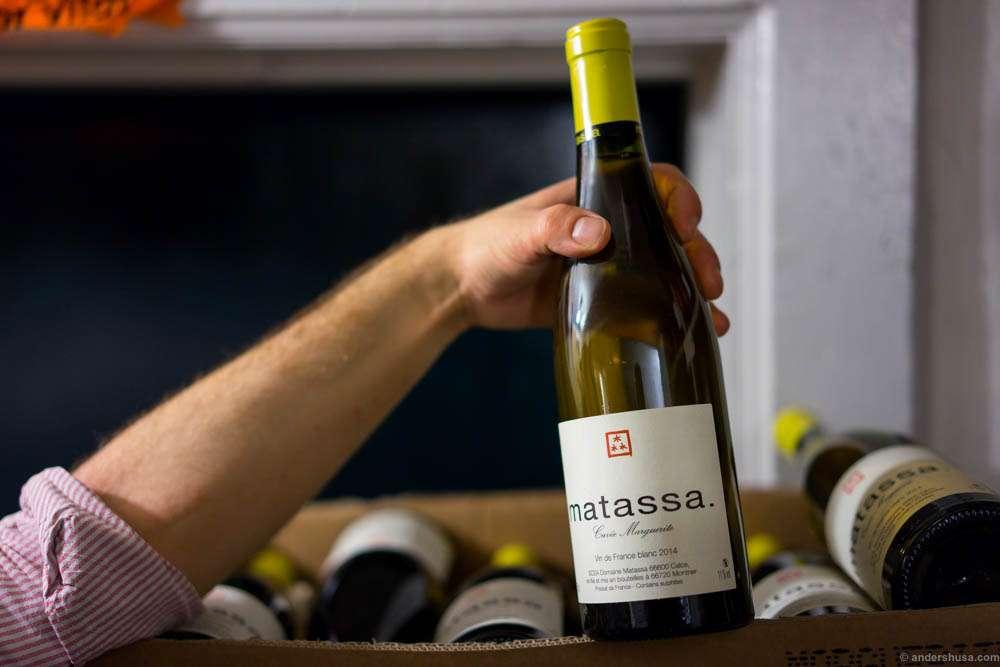 Matassa – Cuvée Marguerite.