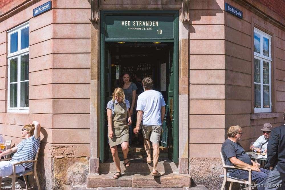 Ved Stranden 10 is our favorite wine bar in Copenhagen.