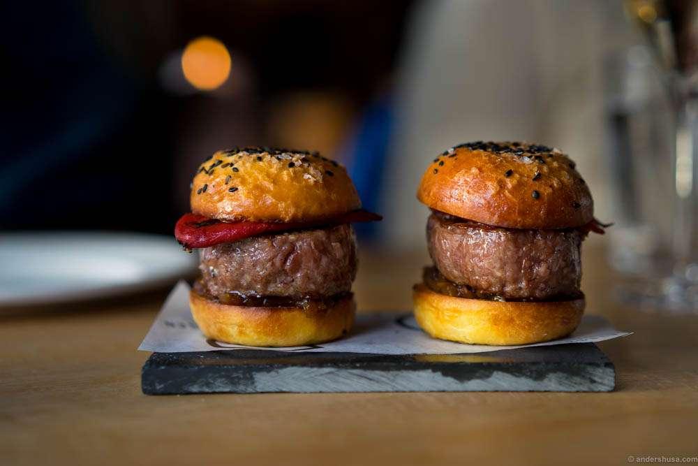 The Deli burger
