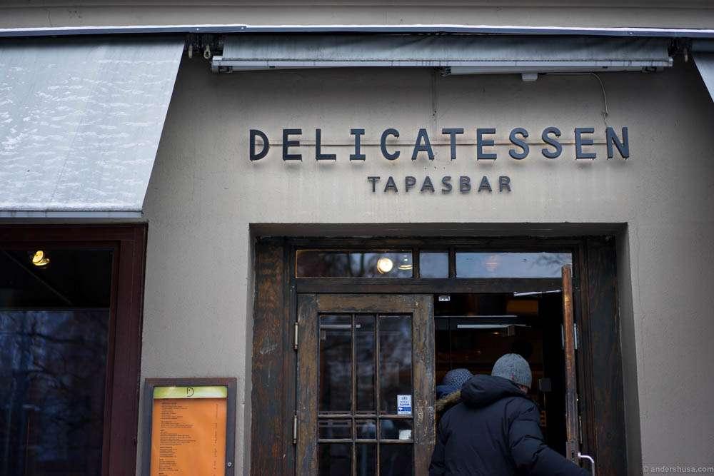 Delicatessen andershusa for Food bar oslo