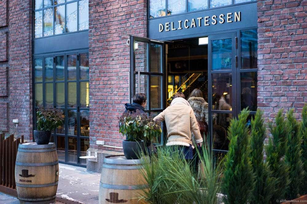 Delicatessen Aker Brygge