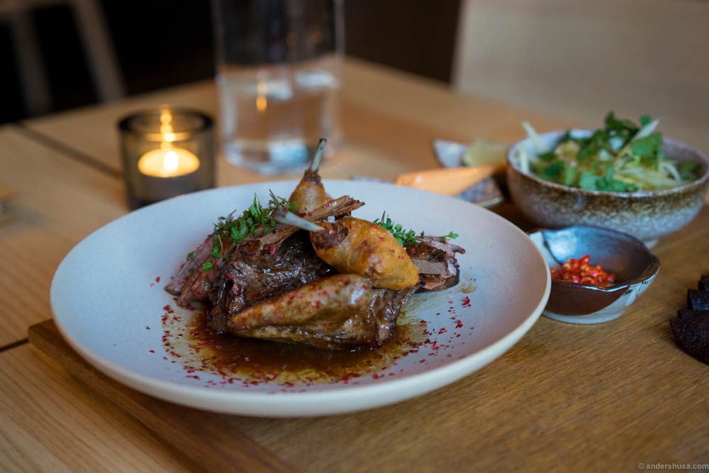 This is a Nordic twist on crispy duck.