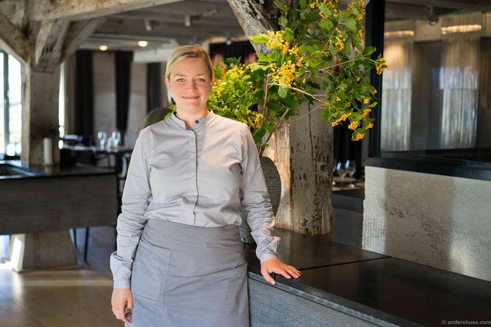 Front of house manager, Australian Katherine Bont
