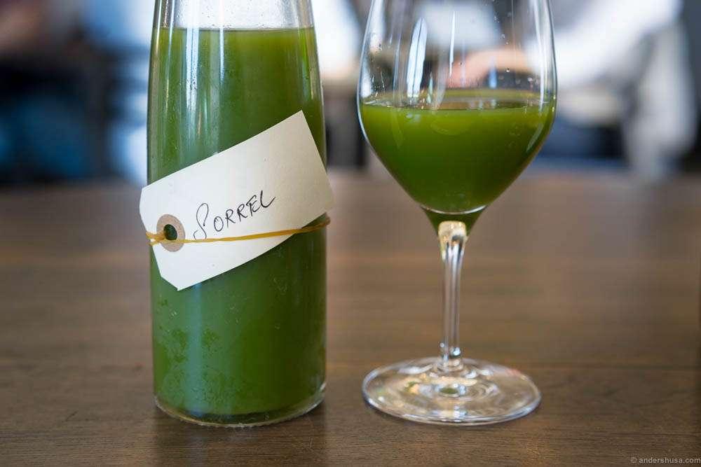 Sorrel juice